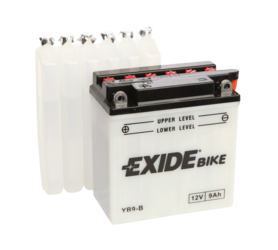 BATTERI MOPED 12V YB9-B EXIDE (L:135, B:75, H:139MM)